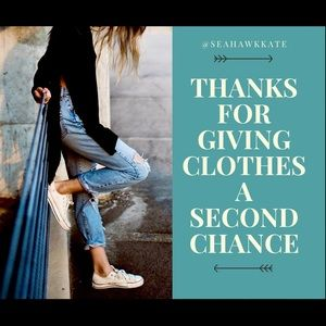 ❤️love giving clothes a second chance❤️